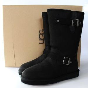 NEW UGG Sutter Suede Buckle Boot Shoes